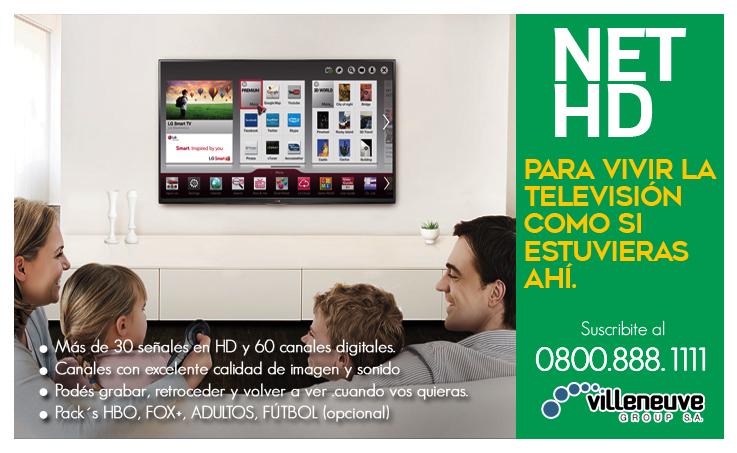 Suscribite a Net HD